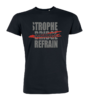 "T-Shirt ""Strophe Bridge Refrain"" (Men)"